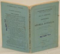 COSTANZO RINAUDO CRONOLOGIA DELLA STORIA D'ITALIA FONDAZIONE ROMA 1912
