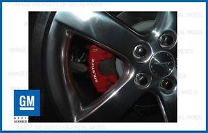 Pontiac Solstice Brake Caliper Decals - set stickers break ALL YEARS