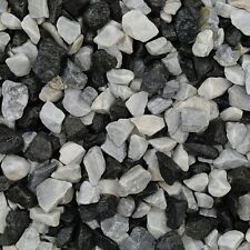 Decorative Stone Black Ice Chippings 875 Kg - Basalt Marble Chippings