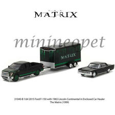 GREENLIGHT 31040 B THE MATRIX 2015 FORD F-150 & 1965 LINCOLN CONTINENTAL 1/64