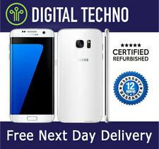 Unlocked Samsung Galaxy S7 White 32GB - SIM Free Android Phone + 1 Year Warranty
