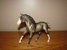 Breyer MOONBEAM GRULLA FOAL Matte Pink Nose Shaded Grey Tail Stockings # 1156