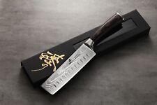 ZHEN Japanese VG-10 67 Layers Damascus Steel Vegetable Usuba/Nakiri Knife 7 in
