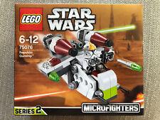Lego Star Wars Republic Gunship Series 2 Microfighters 75076