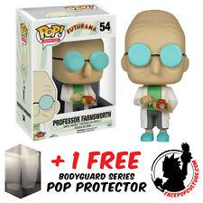 FUNKO POP VINYL FUTURAMA PROFESSOR FARNSWORTH VINYL FIGURE FREE POP PROTECTOR