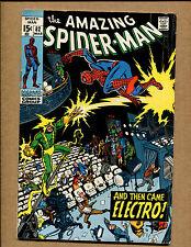 Amazing Spider-Man #82 - Vs Electro - 1970 (Grade 5.5) Wh
