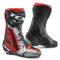 TCX RT-Race Pro Air Moto Motorcycle Bike Boots Black / Red / White
