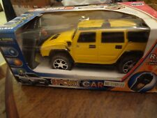 RC Cars Hummer No. 1188-23 Radio Control Sold AS IS