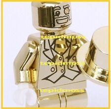 Lego Mr Gold Minifigures series 10 ( lego custom)