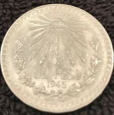 Mexico 1 Peso Silver Coin 1925-1945 Available    And sold separately .