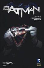 comics - BATMAN N. 3 - MORET DELLA FAMIGLIA - NEW 52 LIBRARY - lion dc