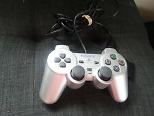 Sony Playstation DualShock 2 (Scph-10010) Ps2 Controller Silver-Tested