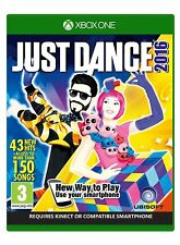 Just Dance 2016 para XBOX One (nuevo Y Sellado)