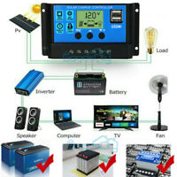 MPPT Solar Panel Regulator Charge Controller Auto Focus Tracking 30-100A 1500W