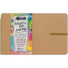 """Ranger Dyan Reaveley's Dylusions Creative Flip Journal 8.5""""X5.5""""-Kraft"""