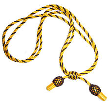 American Civil War Union Or Confederate Officers Gold & Black Slouch Hat Cord