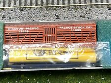 N Scale - Roundhouse 8784 Missouri Pacific 36' Stock Car 11855 N2691