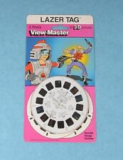 VINTAGE VIEW-MASTER 3D REEL PACKET LAZER TAG CARTOON MINT/SEALED