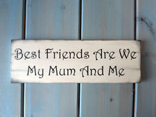 Contemporary Wooden Mum Decorative Plaques & Signs
