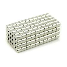 100pcs Neodymium Disc Mini 4X4mm Rare Earth N35 Strong Magnets Craft Models