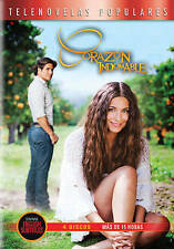 Corazon Indomable (DVD, 2014, 4-Disc Set)