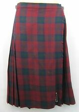 Wool Unbranded Check Pleated, Kilt Skirts for Women