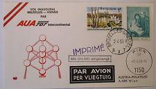 POSTA AEREA, posta aerea, Belgio, AUA 1969 (38378)