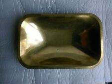 Vintage Oblong Brass Pan / Scoop for Weighing Scales