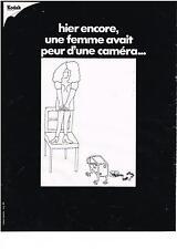 PUBLICITE   1970   KODAK    FILMS CAMERAS APPAREIL PHOTO