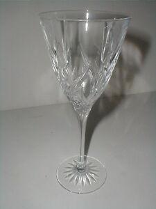 Cris d'Arques Durand Luminarc France CASSANDRA Water Goblet