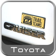 TOYOTA FJ CRUISER TRAIL TEAM EMBLEM 2 PIECE SET FITS 2007-2012 (PT413-35080)