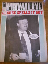 PRIVATE EYE MAGAZINE NUMBER 838 JAN 1994 KENNETH CLARKE SPELLS IT OUT