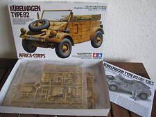 """Kübelwagen Type 82 """"Afrika-Korps"""" (Sandreifen) von TAMIYA im Maßstab 1:35 *NEU*"""