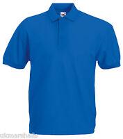 BULK BUYER Fruit of the Loom Classic 65/35 Polo Shirt in 15 Colours S - XXXL