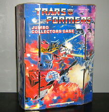 G1 TRANSFORMERS JUMBO COLLECTOR'S CASE ~ TARA TOY CORP.