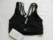 LULULEMON NWT HARD-TO-FIND/DISCONTINUED BLACK STRAP IT LIKE IT'S HOT BRA Size 4