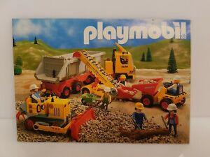 Vintage 1989 Playmobil Mini Catalog Brochure Germany