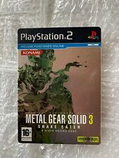 (PlayStation 2) Metal Gear Solid 3: Snake Eater - Steelbook Spanish Edition