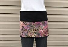 Black Tie Dye 3 Pocket Waitress Waist Apron Bar Restaurant Classyaprons