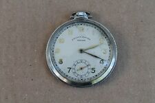 Rare Antique Vintage Old Swiss Made Prima - Ancre Orfina Pocket Watch