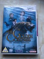 The GOLDEN COMPASS Video game Nintendo Wii - NEW SEALED Sega Pal PG Free Post