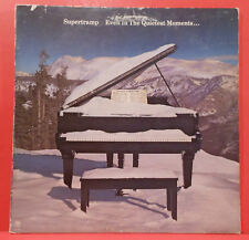 SUPERTRAMP EVEN IN THE QUIETEST MOMENTS LP '77 ORIGINAL NICE CONDITION! VG/VG!!A