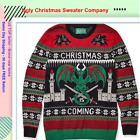 Ugly Christmas Sweater, Company Men's Assorted Anim ,Multi Color ,XL