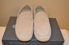 Rockport Taupe Suede Mens Loafers Size 8.5