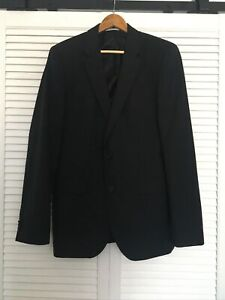 Boss Hugo Boss The Rider  Wool Black  Jacket 40L - Excellent Condition