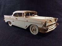 Laser Cut Wooden Chevrolet Bel Air 3D Model/Puzzle Kit