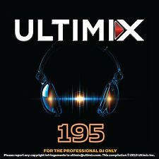 Ultimix 195 CD Ultimix Records Mariah Carey Maroon 5 Pet Shop Boys Stevie B.