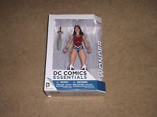 DC COMICS ESSENTIALS ACTION FIGURE WONDER WOMAN MOC BOXED BRAND NEW