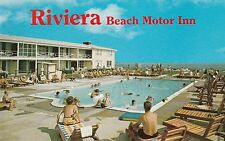 Lam(C) Cape Cod, Ma - Riviera Beach Motor Inn - Exterior and Swimming Pool View