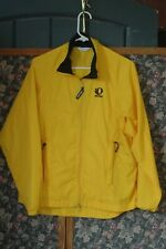 Pearl Izumi zephrr Men's Full Zip Windbreaker Shell Jacket Sz s Yellow